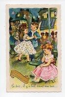 Ce Soir, Il Y A Bal Dans Ma Rue, Enfants Entrain De Danser, Danse, Sainte Catherine (19-622) - Dessins D'enfants