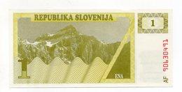 Slovenia - Banconota Da 1 Tallero Sloveno - Nuova -  (FDC14944) - Slovenia
