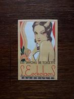 Petite Carte Publicitaire . Savon De Toilette. Bruxelles - Perfume & Beauty