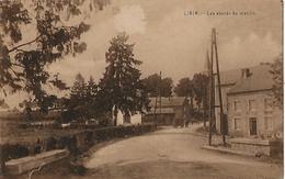 -LIBIN:les Abords Du Moulin,au Fond Personnes Et Attelages.Oblitération Libin En 1932- - Libin