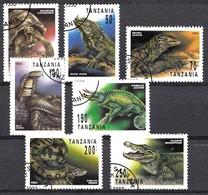 Tanzania 1993 Mi.nr.:1503-1509 Reptilien  OBLITÉRÈS / USED / GEST. - Tanzanie (1964-...)