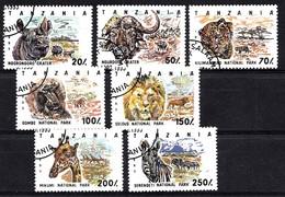 Tanzania 1993 Mi.nr.:1607-1613 Nationalparks  OBLITÉRÈS / USED / GEST. - Tanzanie (1964-...)