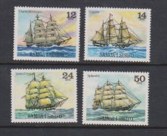 Samoa 1979 Ship Set Of 4 MNH - Samoa
