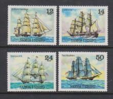 Samoa 1980 Ship Set Of 4 MNH - Samoa