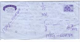 Marcofilia Gambia - Aereogramma  N. 1 - Francobolli, Stamps, Timbres, Sellos,  Briefmarken - Gambia (1965-...)