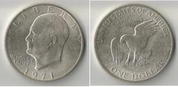 USA 1 DOLLAR 1971  A  ARGENT - Emissioni Federali
