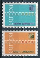 °°° TURKEY - Y&T N°1981/82 - 1971 MNH °°° - 1921-... Repubblica