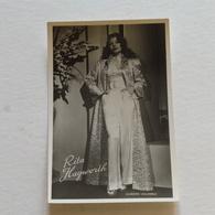 RITA HAYWORTH - Columbia Europa - Photo Véritable - Actors