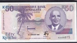 Malawi 50 Kwacha 1994 Unc - Billets
