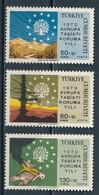 °°° TURKEY - Y&T N°1933/35 - 1970 MNH °°° - 1921-... Repubblica