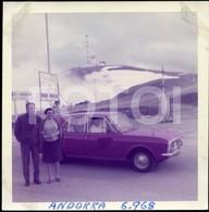 1968 ORIGINAL PHOTO FOTO FORD CORTINA ANDORRA ANDORRE - Orte
