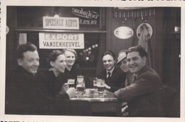 Foto Photo (8 X 12,5 Cm) Café Terras Export Vandenheuvel Martini Speciale Aerts - Cafés