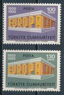 °°° TURKEY - Y&T N°1891/92 - 1969 MNH °°° - 1921-... Repubblica