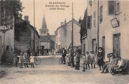39  - CPA  SAINT LUPICIN Entrée Du Village( Coté Nord)  RARE - Otros Municipios