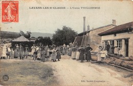 39  - CPA LAVANS LES ST CLAUDE L'usine Vuillermoz RARE - Otros Municipios