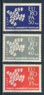 °°° TURKEY - Y&T N°1599/601 - 1961 MNH °°° - 1921-... Repubblica