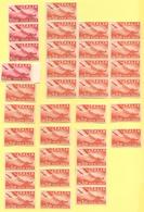 ITALIA - ITALY - ITALIE - 1945-1946 - 31 X 3,20 + 4 X 10 Lire Posta Aerea - Nuovo - 6. 1946-.. Repubblica