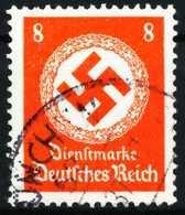 DEUTSCHES-REICH DIENST Nr 136 Gestempelt X6430EA - Dienstpost