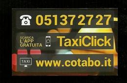 Biglietto Da Visita - TaxiClick - Bologna - Cartoncini Da Visita