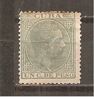 Cuba - Edifil 68 - Yvert 46 (MH/(*)) (sin Goma) - Cuba (1874-1898)