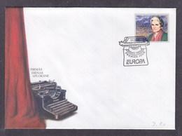 Latvia 1996 Europa CEPT FDC - 1996