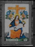 Autriche 2018 Timbre En Verre Oblitéré Jésus Christ - 1945-.... 2ème République