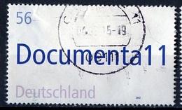 Allemagne Fédérale - Germany - Deutschland 2002 Y&T N°2085 - Michel N°2257 (o) - 56c Exposition D'art Contemporain - [7] République Fédérale