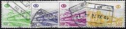 BELGIUM, Parcels, Yv 394/7, Used, F/VF, Cat. € 5,00 - Railway