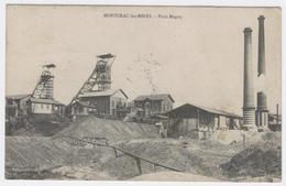 71 - MONTCEAU-les-MINES ** PUITS MAGNY Pour L'extraction Du Charbon ** / 1873 A - Montceau Les Mines