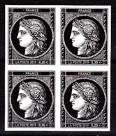 Cérès Bloc De 4 X 0.20 €  Non Dentelé, 170 Ans Du Premier Timbre De France 1849/2019 - France