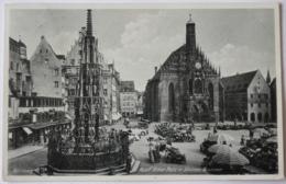 Nürnberg Adolf Hitler Platz Mit Schönen Brunnen - Nuernberg