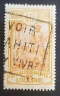 1913-1915, Local Motives, Oceania, Établissements De L'Oceanie, *,**, Or Used - Usados