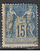 (FR 604) FRANCE //  YVERT 90 SAGE // 1877-80 - 1876-1878 Sage (Type I)