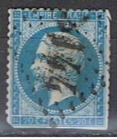 (FR 593) FRANCE //  YVERT 22 // 1862 - 1862 Napoleon III
