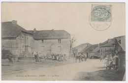 52- NIJON ** LA PLACE Bien Animée ** ENVIRONS DE BOURMONT** / 1876 A - France