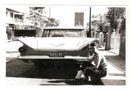 """FO--00091-- FOTO ORIGINALE AUTO"""" BUICK """"GENERAL MOTORS 1959 CON PIN UP - VENEZUELA - Automobiles"""