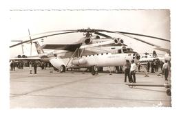 """FO--00092-- FOTO ORIGINALE ELICOTTERO """" URRS """" - Aviazione"""