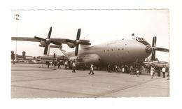 """FO--00094-- FOTO ORIGINALE AEREO DA TRASPORTO """" URRS """" - Aviazione"""