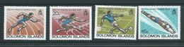 Solomon Islands 1979 South Pacific Games Set Of 4 MNH - Solomon Islands (1978-...)