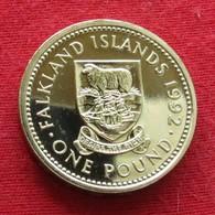 Falkland 1 Pound 1992 - Falkland Islands