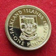Falkland 1 Pound 1992 - Malvinas