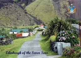 Tristan Da Cunha Island Edinburgh Of The Seven Seas Settlement New Postcard - Ansichtskarten