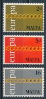 °°° MALTA - Y&T N°424/26 - 1971 MNH °°° - Malta