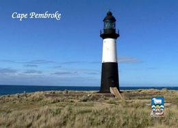 Fakland Islands Cape Pembroke Lighthouse New Postcard Falklandinseln Malwinen AK - Isole Falkland