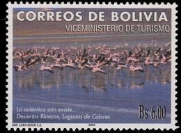 Bolivia 2005 Tourism, Flamingos Unmounted Mint. - Bolivia