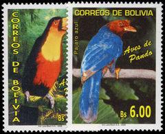 Bolivia 2006 Birds Of Pando Unmounted Mint. - Bolivia