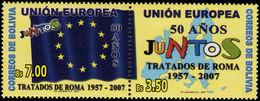 Bolivia 2007 Treaty Of Rome Unmounted Mint. - Bolivia