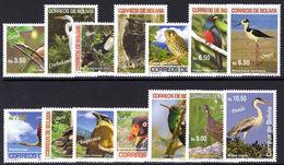 Bolivia 2007 Birds Unmounted Mint. - Bolivia