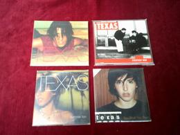 TEXAS  °° COLLECTION DE 2 MAXIS SINGLES + 2 CD SINGLES - Musique & Instruments