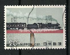 Japan Mi:01234 1974.11.26  Steam Locomotives Series 1st(used.w) - 1926-89 Empereur Hirohito (Ere Showa)